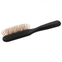 Fusion Brass Oblong Pin Brush