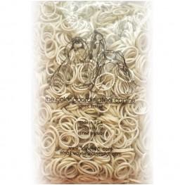 Lainee Резинки для папильоток уменьшенного размера, упаковка около 1800 штук